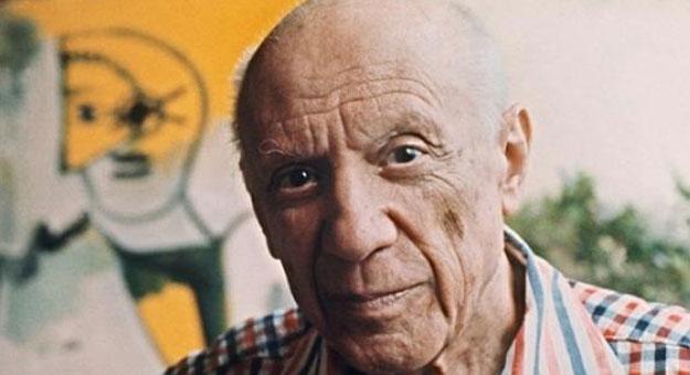 صور لوحة رجل يجلس للرسام بابلو بيكاسو Homme assis