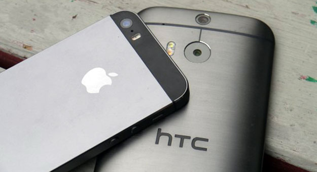 ������ ��� ������ ���� HTC M8 � Iphone 5 ������