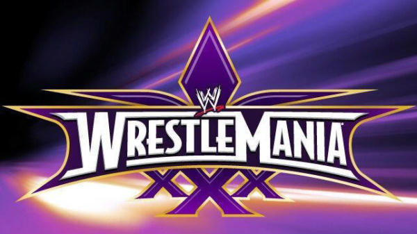 ������� ������� ������ ���� WrestleMania 30 ����� ������� 7/4/2014