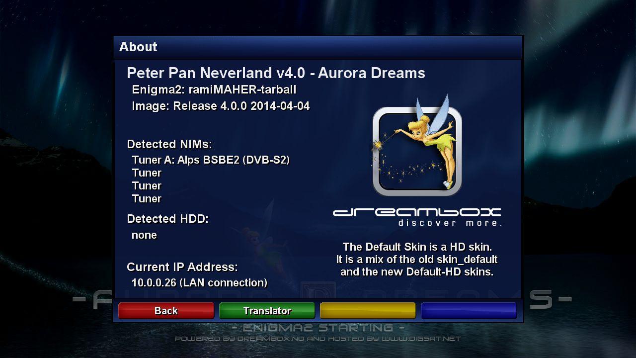 PP Neverland v4.0 Aurora Dreams DM800seV2 ramiMAHER ssl88a