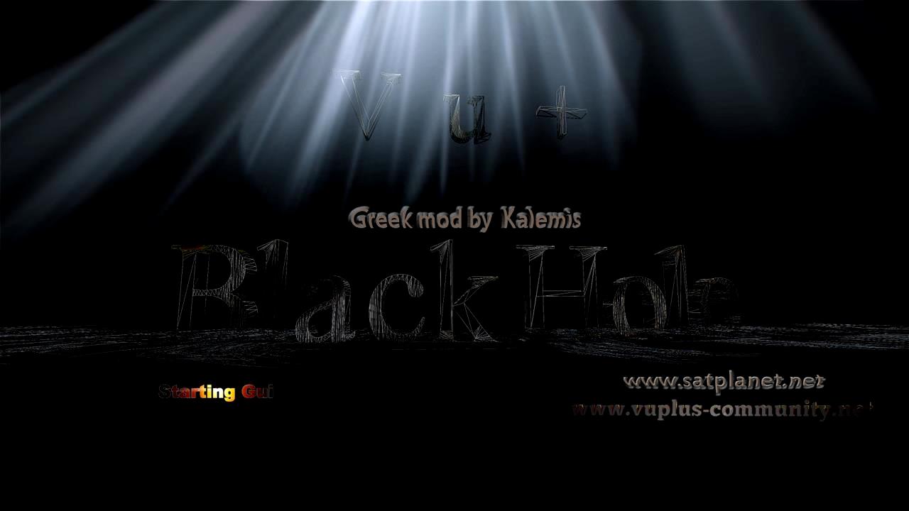 Black Hole 2.0.9.1 Greek mod for Vuplus Solo by Kalemis