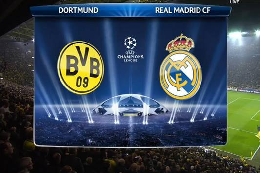 Borussia Dortmund vs Real Madrid 8/4/2014