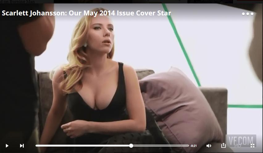 صور سكارليت جوهانسون على مجلة Vanity Fair الأمريكية مايو 2014