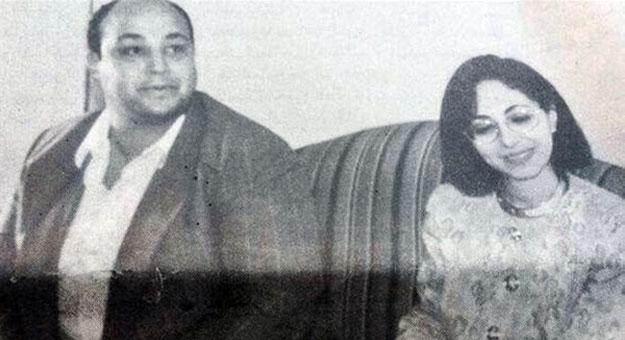 صور قديمة للاعلامي عمرو أديب زوجته لميس الحديدى في ايام الشباب