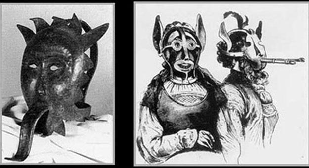 بالصور عقاب المجرمين قديما في أوروبا باستخدام قناع العار