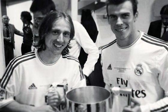 صور نجوم ريال مدريد وهم يحملون كأس ملك اسبانيا 2014