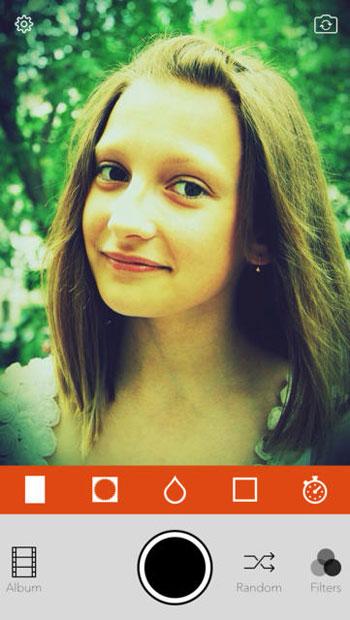 ����� ����� Retrica ������� ��� Selfie ������ ��������� 2014