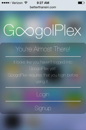 بالصور طريقة تحسين خدمة siri في أجهزة الايفون باستخدام GoogolPlex