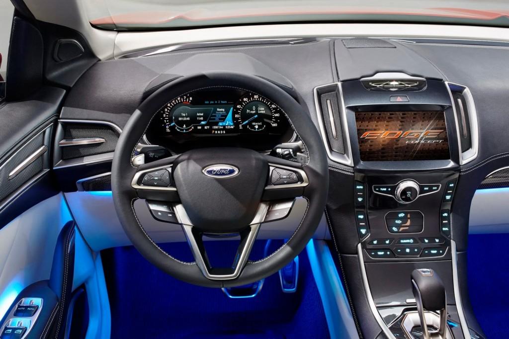 ��� ����� ���� ���� 2015 �� ������ ������� � Ford Edge 2015