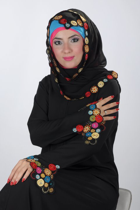 863fef6b29c2a صور عبايات سعودى للبنات 2015 ، أجمل عبايات سعودية 2015 ، عبايات سعودية  ملونة 2015