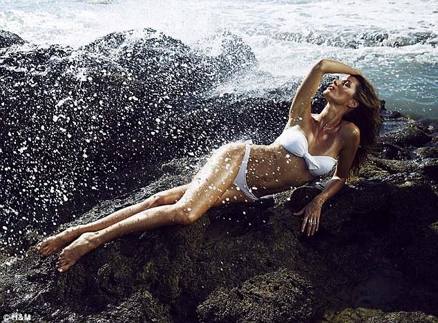 ��� ����� ������� �� ��� ����� H&M SwimWear ���� 2014