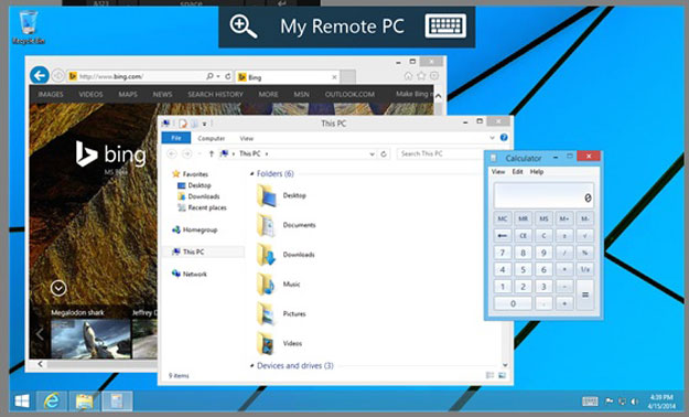 تحميل تطبيق Microsoft Remote Desktop لأجهزة ويندوز فون 2014