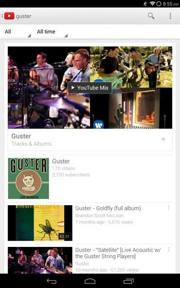 ���� ��� ���� YouTube Mix �� ����� YouTube ������ ���������