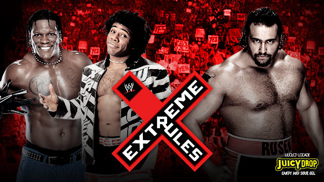 ������ �� ����� ������ ������ WWE ������ Extreme Rules 2014 ��� ������� 5 ���� 2014