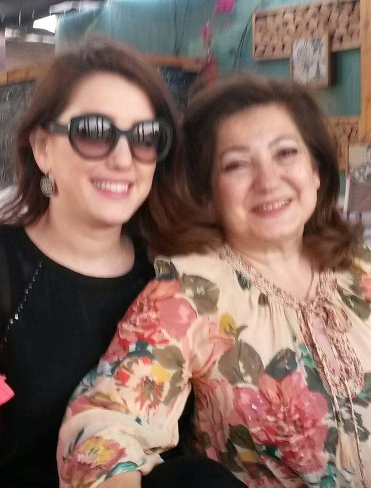 صور كندة علوش مع والدتها 2014 , صور والدة الفنانة كندة علوش 2014