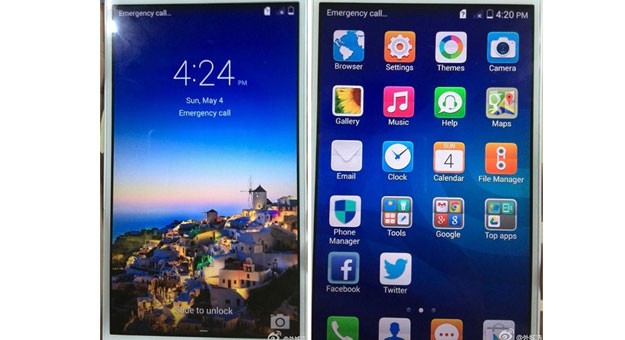 ��� ������� ������� ����� Huawei Ascend P7