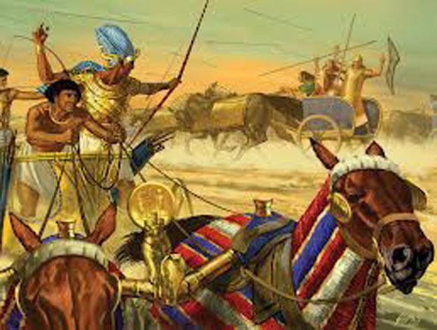 بالصور أهم المعارك فى تاريخ مصر القديمة