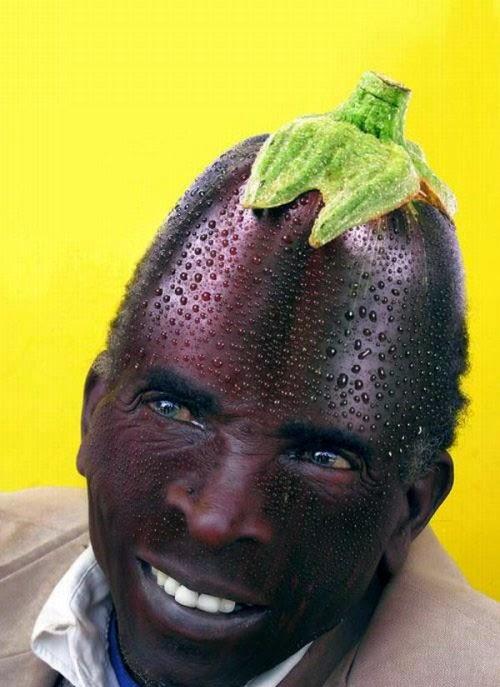 صور وجوه مضحكة مصنوعة من الخضراوات والفواكه والشوكولاته 2014