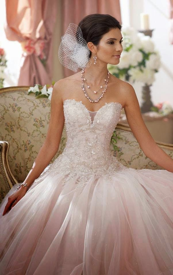 تشكيلة فساتين زفاف لصيف 2014 , أجمل تصميات فساتين العرايس 2015 , صور فستان العروس 2015