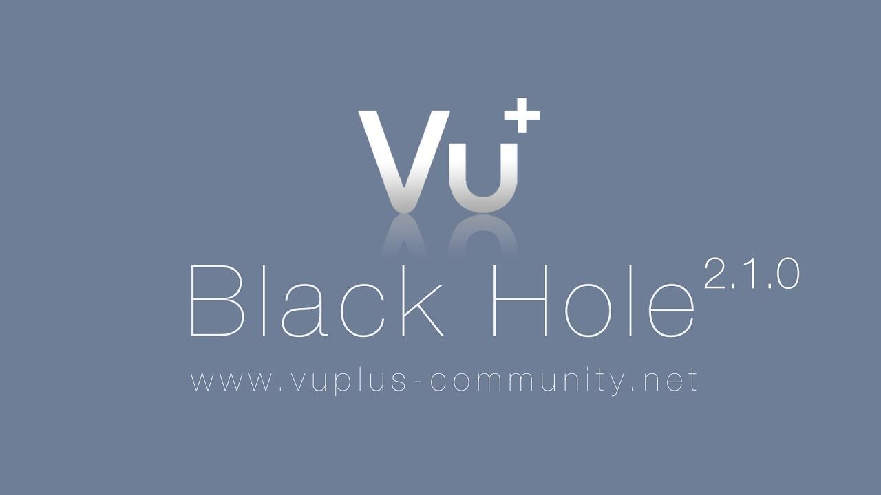 تحميل صورة Black Hole Vu+ Uno 2.1.0