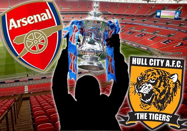 Arsenal vs Hull City FA Cup Final Saturday 17-5-2014