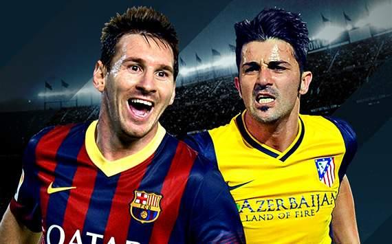 Barcelona vs Atlético Madrid Saturday 17-5-2014 Final La Liga