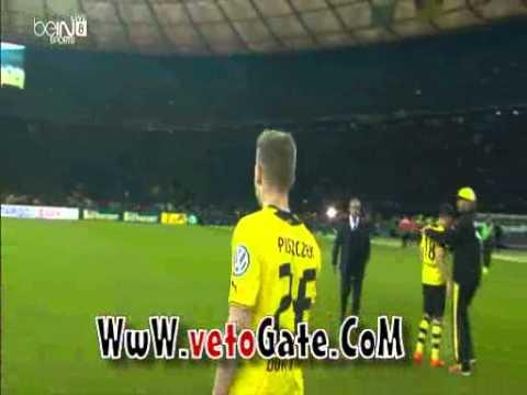 بالفيديو احتفال لاعبي بايرن ميونخ بلقب كأس المانيا 2014