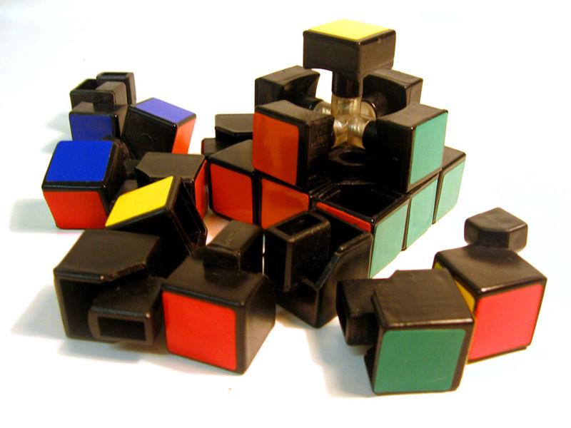 Rubik's cube , google celebrate innovation of Rubik's cube