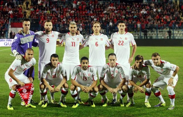 ��� ������� �������� �� ��� ������ 2014 , Switzerland team