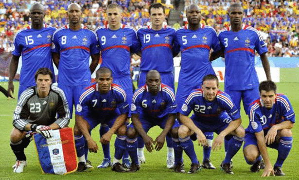 ��� ������� ������� �� ��� ������ 2014 , France team