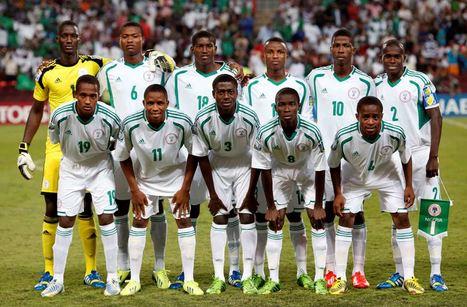 ��� ������� �������� �� ��� ������ 2014 , Nigeria team