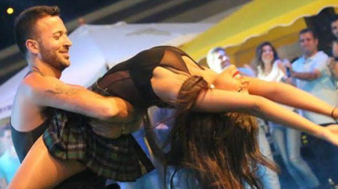 صور حفلة جنى في جامعة سيدة اللويزة في لبنان 2014