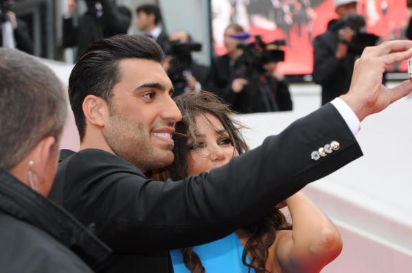 صور آدم صباغ ومي حريري في مهرجان كان 2014