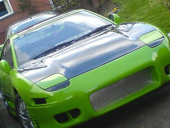 صور سيارة ميتسوبيشى gto باللون الاخضر 2014