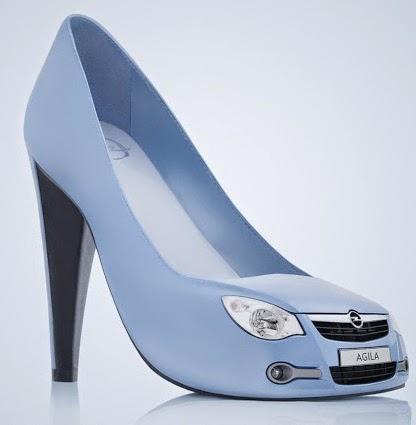 بالصور مجموعة غريبة وغير تقليدية من الأحذية 2014