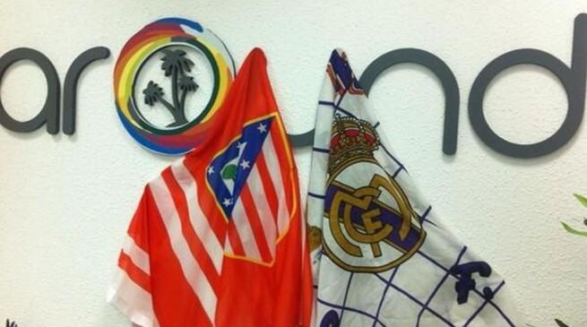 صور جماهير ريال مدريد وأتلتيكو مدريد قبل بداية نهائي دوري أبطال اوروبا في مدريد 2014