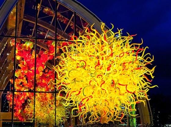 بالصور فن النحت على الزجاج الملون 2014