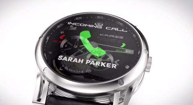 بالفيديو مواصفات وسعر ساعة Kairos الذكية