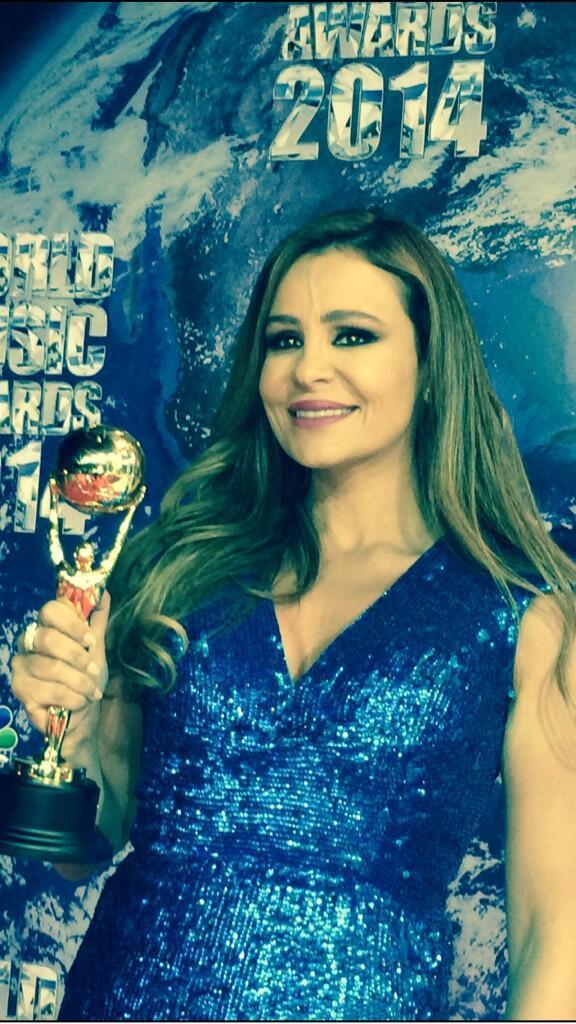 ��� ����� ����� �� ��� World Music Awards 2014