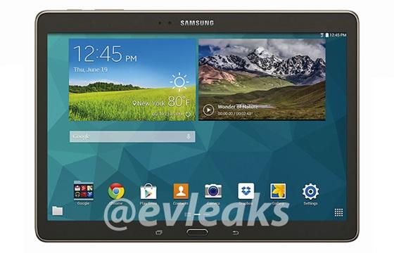 ��� �������� ����� ������� Galaxy Tab S 10.5 ������
