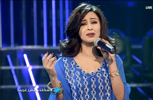 يوتيوب اغنية لاقيتك والدنيا ليل ميس حمدان في برنامج شكلك مش غريب اليوم السبت 31-5-2014