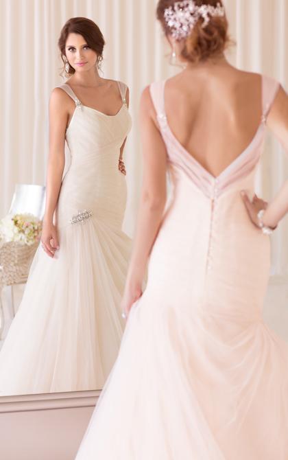 فساتين زفاف أنيقة وعصرية 2014