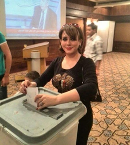 الفنانين السوريين الانتخابات الرئاسية 2014