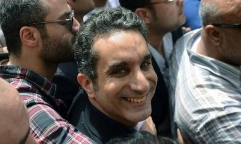 تفاصيل وحقيقة عودة البرنامج لباسم يوسف على التلفزيون المصري 2014