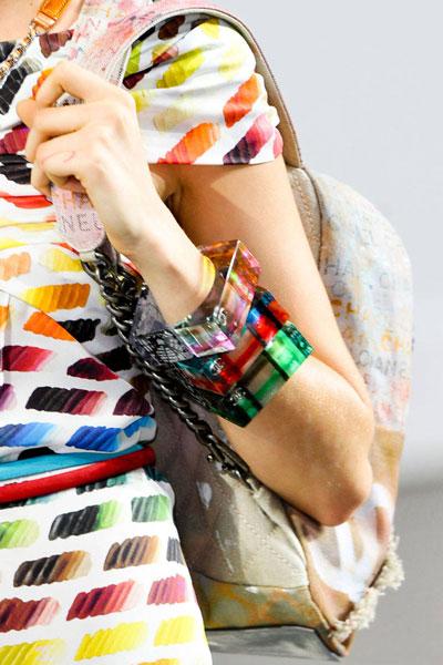 اساور ملونة للبنات روعه 2014 , أشكال اساور جديدة للبنات 2015