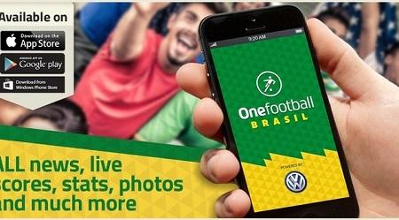 ����� ����� Onefootball Brasil ������� ������� ��� ������ ������ ��������� 2014