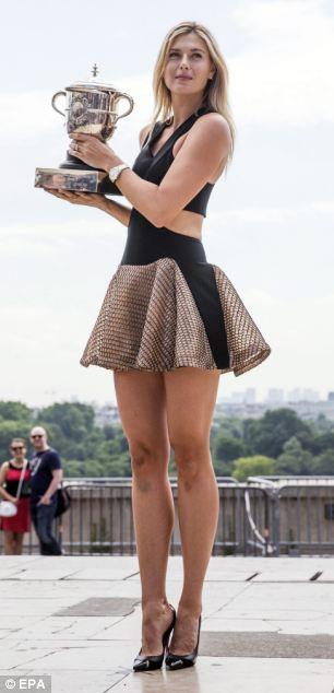 ��� ����� ����� �������� ������ ����� �������� 2014 , ���� ��� ����� �������� 2015 Maria Sharapova