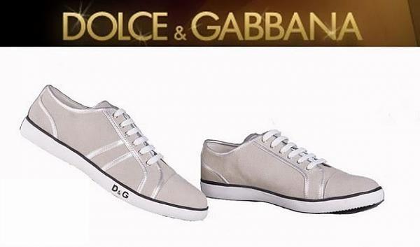 أحذية ماركة دولتشي غابانا للشباب