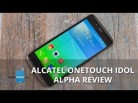 �������� ������� ������� ���� Alcatel OneTouch Idol Alpha
