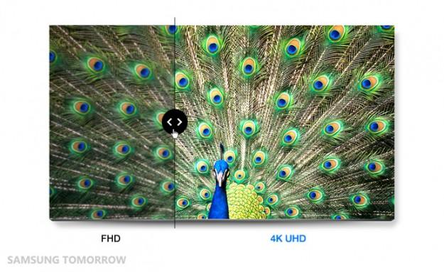 ��� �������� ���� ���� Samsung UD590 ������ 4k